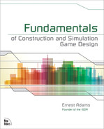 Cover of Fundamentals of Construction and Simulation Game Design