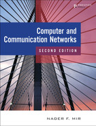 Cover of Computer and Communication Networks, Second Edition