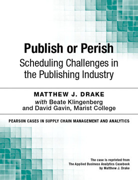 Publish or Perish: Scheduling Challenges in the Publishing Industry