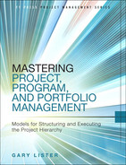 Cover of Mastering Project, Program, and Portfolio Management: Models for Structuring and Executing the Project Hierarchy