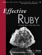 Cover of Effective Ruby: 48 Specific Ways to Write Better Ruby