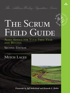 Cover of The Scrum Field Guide: Agile Advice for Your First Year and Beyond, Second Edition