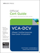 Cover of VCA-DCV Official Cert Guide: VMware Certified Associate - Data Center Virtualization