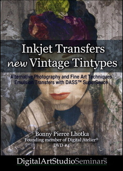 Inkjet Transfers, New Vintage Tintypes