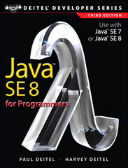 Java™ SE 8 for Programmers, Third Edition