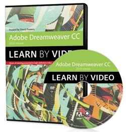 'Adobe Dreamweaver CC Learn by Video (2014 release)'