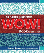 Cover of The Adobe Illustrator WOW! Book for CS6 and CC