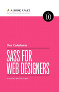 Book cover for Sass for Web Designers