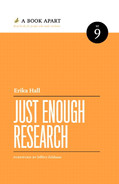 Cover of Just Enough Research