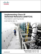 Cover of Implementing Cisco IP Switched Networks (SWITCH) Foundation Learning Guide: (CCNP SWITCH 300-115)