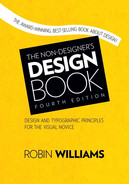Cover of The Non-Designer's Design Book, Fourth Edition
