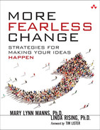 Cover of More Fearless Change: Strategies for Making Your Ideas Happen