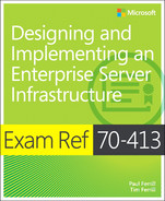Cover of Exam Ref 70-413: Designing and Implementing a Server Infrastructure
