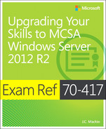 Cover of Exam Ref 70-417: Upgrading Your Skills to MCSA Windows Server 2012 R2