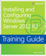 Cover of Training Guide: Installing and Configuring Windows Server 2012 R2