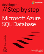 Cover of Microsoft® Azure™ SQL Database Step by Step
