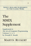 Cover of The MMIX Supplement: Supplement to The Art of Computer Programming Volumes 1, 2, 3 by Donald E. Knuth