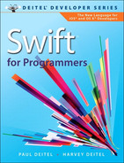Book cover for Swift™ for Programmers