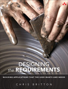 Cover of Designing the Requirements: Building Applications that the User Wants and Needs