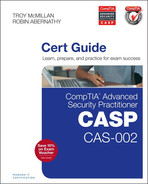 Cover of CompTIA Advanced Security Practitioner (CASP) CAS-002 Cert Guide