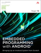 Cover of Embedded Programming with Android: Bringing Up an Android System from Scratch