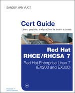 Cover of Red Hat® RHCSA™/RHCE® 7 Cert Guide: Red Hat Enterprise Linux 7 (EX200 and EX300)