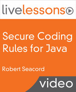 Cover of Secure Coding Rules for Java, Part I