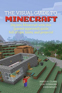Cover of The Visual Guide to Minecraft: Dig into Minecraft with this (parent-approved) guide full of tips, hints, and projects!
