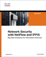 Cover of Network Security with NetFlow and IPFIX: Big Data Analytics for Information Security