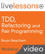 Cover of Test Driven Development, Refactoring and Pair Programming