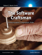 Cover of The Software Craftsman: Professionalism, Pragmatism, Pride