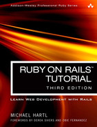 Cover of Ruby on Rails Tutorial: Learn Web Development with Rails, Third Edition