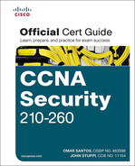Cover of CCNA Security 210-260 Official Cert Guide