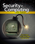 Cover of Security in Computing, Fifth Edition