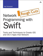 Cover of Network Programming with Swift: Tools and Techniques to Create iOS and OS X Apps that Network