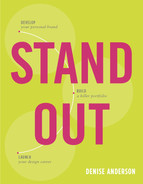 Cover of Stand Out: Design a personal brand. Build a killer portfolio. Find a great design job.