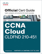 Cover of CCNA Cloud CLDFND 210-451 Official Cert Guide