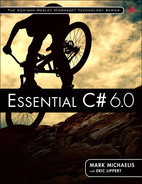 Cover of Essential C# 6.0