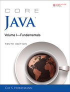 Cover of Core Java® Volume I—Fundamentals, Tenth Edition