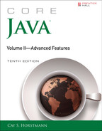 Cover of Core Java® Volume II—Advanced Features, Tenth Edition