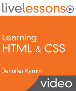 Book cover for Learning HTML & CSS