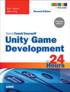 Cover of Sams Teach Yourself Unity® Game Development in 24 Hours, Second Edition