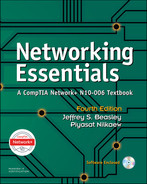 Cover of Networking Essentials: A CompTIA Network+ N10-006 Textbook, Fourth Edition