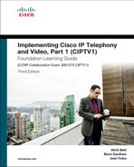 Cover of Implementing Cisco IP Telephony and Video, Part 1 (CIPTV1) Foundation Learning Guide, Third Edition
