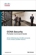 Cover of CCNA Security (210-260) Portable Command Guide, Second Edition