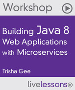 Book cover for Building Java 8 Web Applications with Microservices