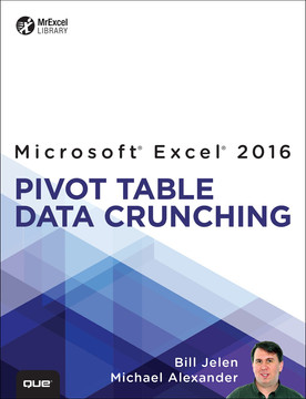 Excel® 2016 Pivot Table Data Crunching