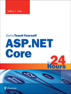 Cover of Sams Teach Yourself ASP.NET 5.0 in 24 Hours