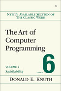 Cover of The Art of Computer Programming: Satisfiability, Volume 4, Fascicle 6