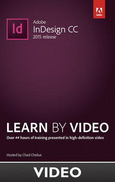 Adobe InDesign CC 2015 release Learn by Video